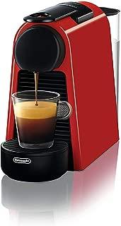 De'Longhi Nespresso德龍雀巢 Essenza Mini 膠囊咖啡機 | EN 85.R| 送不同口味的咖啡膠囊體驗禮盒| 19 bar泵壓| 節省空間|紅