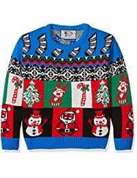 British Christmas Jumpers 男童 Little Boxes 套头衫