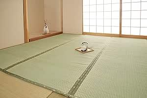 IKEHIKO 灯心草 地毯 F不知火 三六间8叠 约364×364cm 日本制造 #6305148