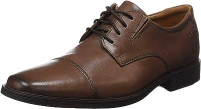Clarks 男士 Tilden Cap 牛津鞋