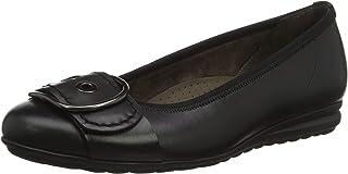 Gabor 女士舒适运动浅口芭蕾舞鞋