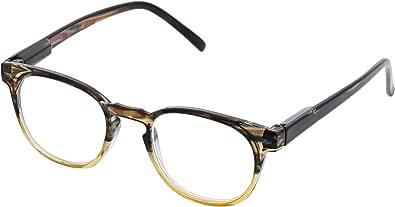 Peepers 中性成人多诺米石 - 棕褐色/棕色 2538275 圆形老花镜,棕褐色,2.75