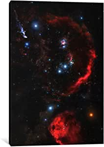iCanvasART 11121-1PC6-40x26 Orion The Hunter 'Hubble Space Telescope' Canvas Print by NASA, 1.5 x 26 x 40-Inch