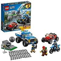LEGO 乐高  拼插类 玩具  LEGO City  城市系列 山地追击 60172 5-12岁