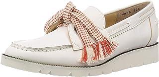 Tsumori Chisatwalk 蝴蝶结图案平底鞋 4830 女士