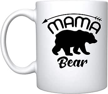 Veracco Mama Bear Arrow 陶瓷咖啡马克杯趣味生日母亲节礼物 送给妈妈 女儿 Son 出品 Ceramic Mug