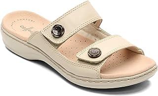 Clarks 女士 Leisa Glow Slide 凉鞋