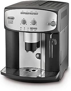 De'Longhi 德龍 Caffe' Corso ESAM2800.SB 全自動咖啡機,銀色加黑色