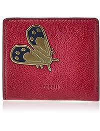 Fossil Emma,女士钱包,Rot (红莓葡萄*),1.6x9.52999999999994x10.16 cm(B x H T)