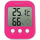 日本(多利科dretec)O-230电子温湿度计 高精度温度计湿度计室内婴儿<白色>