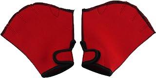 Dream Leap 游泳手套 红色
