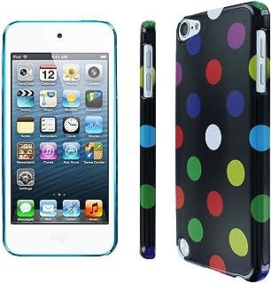 EE 配件硅胶 TPU 波点手机壳皮肤保护套适用于 iPod Touch 5 * 5 代(黑色多色)