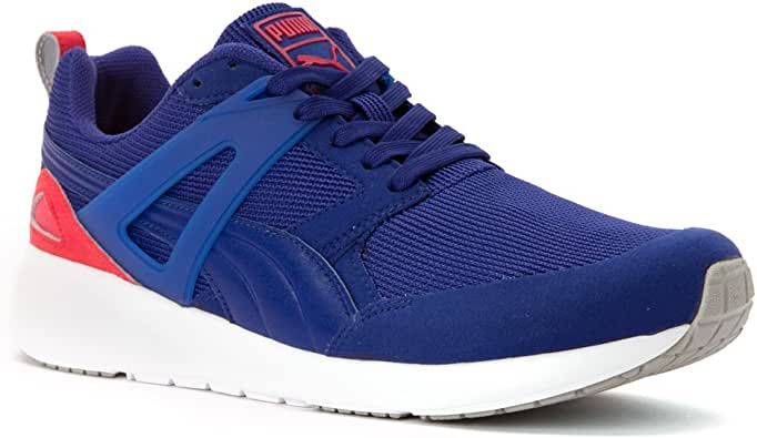 PUMA 男式 arial 运动鞋跑鞋 蓝色 11 B(M) US Women / 9.5 D(M) US Men