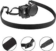 EyeGrab 肩带安装带可调节肩带,带 GoPro Hero 7、Hero 6/5/4/3+、Session 4/5、OSMO 行动、Xiaoyi 4K、Insta 360 相机