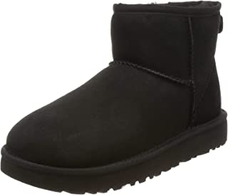 UGG 雪地靴 Classic Mini II1016222 12623710 黑色 22.0 cm