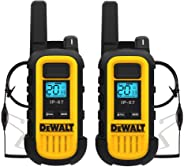 DeWALT 重型商务对讲机1DXFRS300-SV1 DXFRS300 2 Pack - 2 Headsets