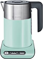 Bosch TWK8612PGB 造型水壶,蓝绿色