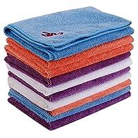 3M 清洁擦拭布 吸水毛巾 擦车布 混色 十条装 40cm*40cm(供应商直送)