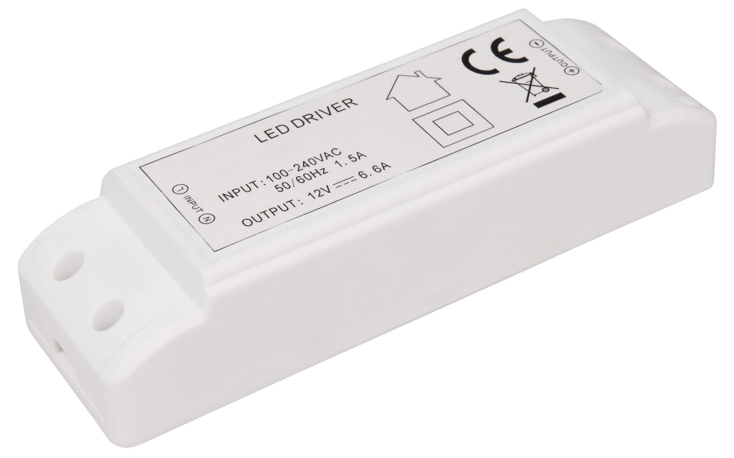 McShine  -  80W 1452340  - トランス電子、230ボルト12ボルトLEDドライバ1W LED