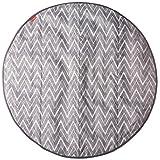 SKIP HOP grab-and-go 圆形 TRIP 旅行车垫灰色锯齿形