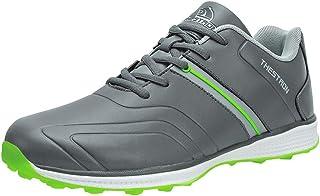 Thestron 男士高尔夫球鞋无铆钉运动运动鞋 步行训练鞋.