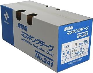 NICHIBAN No.241 遮蔽胶带(车辆用)9mm×18M 120卷装