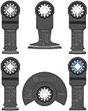 Bosch OSL006 六件套星形锁振荡多用工具配件套装带袋