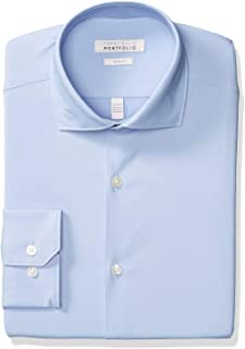 Perry Ellis Slim Fit Spread 男士修身正装衬衫
