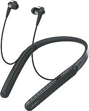 Sony 索尼 WI-1000X Hi-Res颈挂式 入耳式 无线蓝牙耳机 降噪耳机 手机通话 黑色
