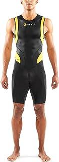 Skins 男式 Tri 400 铁人三项紧身衣,背部拉链