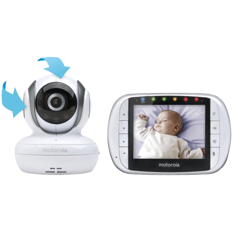 摩托罗拉 MBP36S 远程无线视频婴儿监视器