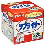 贝亲 Pigeon ソフライナー 220片装  白色 1個