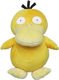 Sanei Pokemon All Star 系列Psyduck 填充毛绒玩具,7 英寸