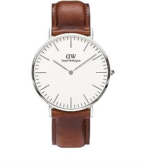 Daniel Wellington 丹尼尔•惠灵顿 瑞典品牌 Classic系列 石英手表 男士腕表 真皮表带
