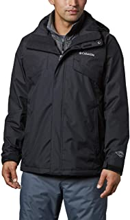 Columbia 男士 Bugaboo II 抓绒可互换夹克,保暖反光保暖
