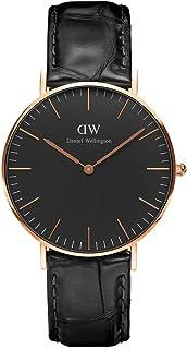 Daniel Wellington 丹尼尔惠灵顿 中性 手表 - DW00100141,黑