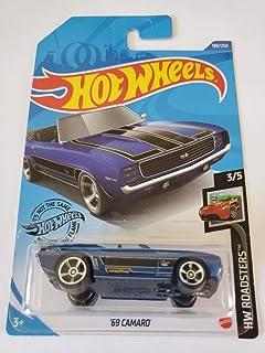 Hot Wheels 2020 Hw Roadsters '69 Camaro, Blue 190/250