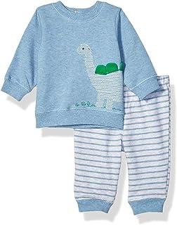 Little Me 男婴运动衫套装