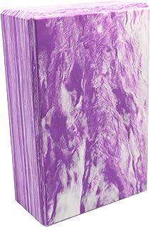 CWM 瑜伽砖 2 件装高* EVA 泡沫块支撑和加深姿势,轻盈、防臭