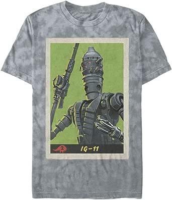 星球大战男式 T 恤 灰色摇滚 X-Large