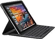 Logitech Create 背光键盘保护套带智能连接器技术适用于 iPad Pro 9.7