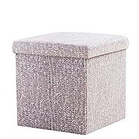 BAOYOUNI宝优妮收纳凳子储物凳可坐成人家用多功能折叠整理箱进门换鞋凳柜 DQ9084-20(供应商直送)
