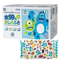 怪物家 純水99% 濕巾 80張×20個 (1600張) 日本制 不含防腐劑