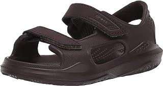 Crocs 卡骆驰儿童 Swiftwater 远征凉鞋 | 易穿水滩和泳池鞋