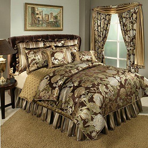 オースティンホーンクラシックスワンダーランド4ピース寝具シリーズ、ラージ、ブラウン