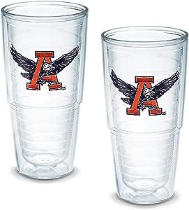 Tervis 1141481 Abilene 基督教大学徽章杯,2 件套,453.59 克,透明 2 件套 24-Ounce 93597244162
