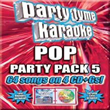 Party Tyme Karaoke - 流行派对套装 5 [4 CD+G]