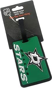 aminco NHL 达拉斯星队软袋 Tagnhl 软袋标签,多色,7.5