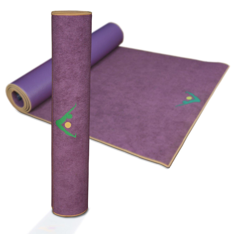 Aurorae synergy二合一超纤防滑瑜伽垫