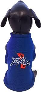 NCAA Tulsa 金色飓风棉质莱卡狗背心,XS 码